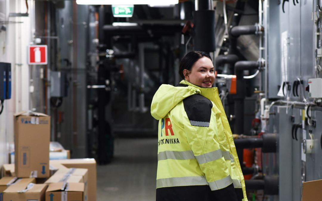 IPR-Talotekniikka työnantajana: Oonan tie sähköasentajaksi